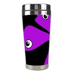 Purple amoeba Stainless Steel Travel Tumblers