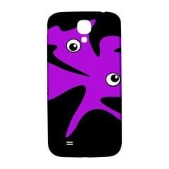 Purple amoeba Samsung Galaxy S4 I9500/I9505  Hardshell Back Case