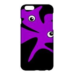 Purple amoeba Apple iPhone 6 Plus/6S Plus Hardshell Case