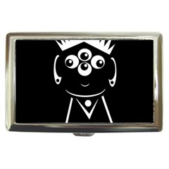 Black and white voodoo man Cigarette Money Cases