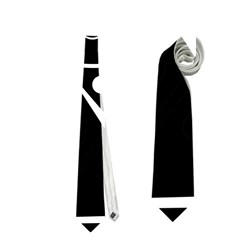Black and white voodoo man Neckties (Two Side)