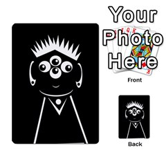 Black And White Voodoo Man Multi Purpose Cards (rectangle)