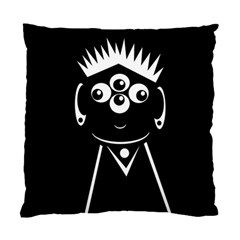 Black and white voodoo man Standard Cushion Case (Two Sides)