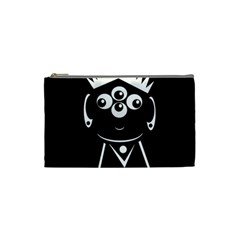 Black and white voodoo man Cosmetic Bag (Small)