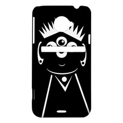 Black and white voodoo man HTC Evo 4G LTE Hardshell Case