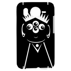 Black and white voodoo man HTC Desire HD Hardshell Case