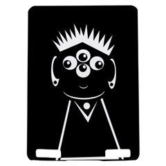 Black and white voodoo man Kindle Touch 3G