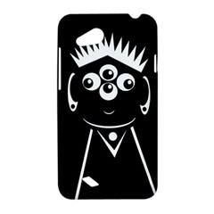 Black and white voodoo man HTC Desire VC (T328D) Hardshell Case