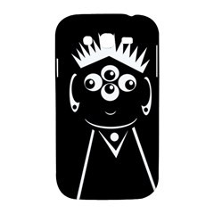 Black and white voodoo man Samsung Galaxy Grand DUOS I9082 Hardshell Case