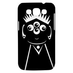 Black and white voodoo man Samsung Galaxy Win I8550 Hardshell Case