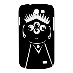 Black and white voodoo man Samsung Galaxy Express I8730 Hardshell Case