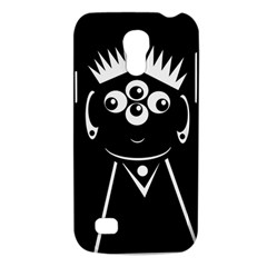 Black and white voodoo man Galaxy S4 Mini