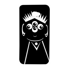 Black and white voodoo man HTC Butterfly S/HTC 9060 Hardshell Case