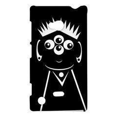 Black and white voodoo man Nokia Lumia 720