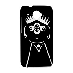 Black and white voodoo man HTC Desire 601 Hardshell Case