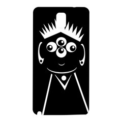 Black and white voodoo man Samsung Galaxy Note 3 N9005 Hardshell Back Case