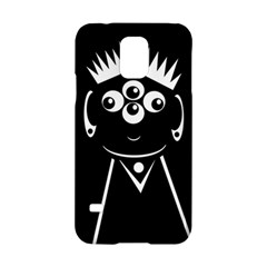 Black and white voodoo man Samsung Galaxy S5 Hardshell Case