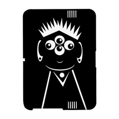 Black and white voodoo man Amazon Kindle Fire (2012) Hardshell Case