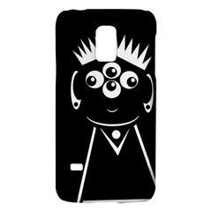 Black and white voodoo man Galaxy S5 Mini