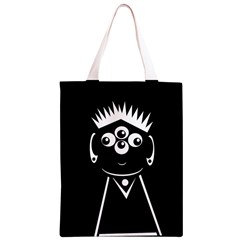 Black and white voodoo man Classic Light Tote Bag