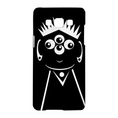 Black and white voodoo man Samsung Galaxy A5 Hardshell Case