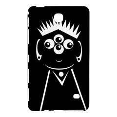 Black and white voodoo man Samsung Galaxy Tab 4 (8 ) Hardshell Case