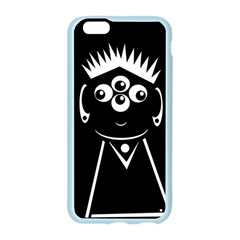 Black and white voodoo man Apple Seamless iPhone 6/6S Case (Color)