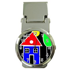 Kids drawing Money Clip Watches