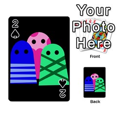 Three monsters Playing Cards 54 Designs