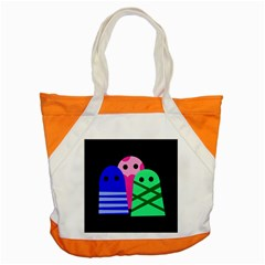 Three monsters Accent Tote Bag