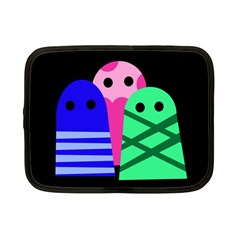 Three monsters Netbook Case (Small)