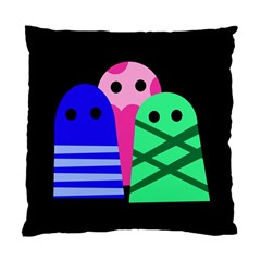 Three monsters Standard Cushion Case (One Side)