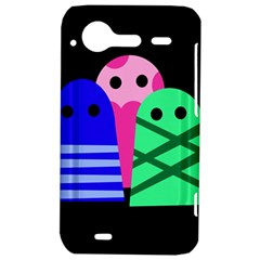 Three monsters HTC Incredible S Hardshell Case