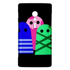 Three monsters Sony Xperia ion