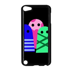 Three monsters Apple iPod Touch 5 Case (Black)