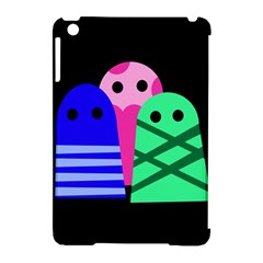 Three monsters Apple iPad Mini Hardshell Case (Compatible with Smart Cover)