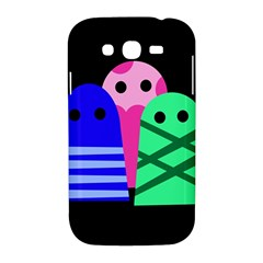 Three monsters Samsung Galaxy Grand DUOS I9082 Hardshell Case