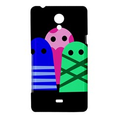Three monsters Sony Xperia T