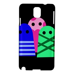 Three monsters Samsung Galaxy Note 3 N9005 Hardshell Case
