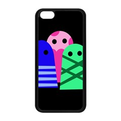 Three monsters Apple iPhone 5C Seamless Case (Black)