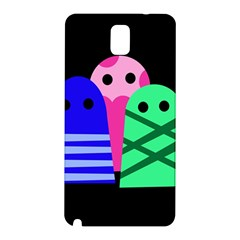 Three monsters Samsung Galaxy Note 3 N9005 Hardshell Back Case