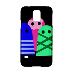 Three monsters Samsung Galaxy S5 Hardshell Case