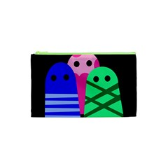 Three monsters Cosmetic Bag (XS)