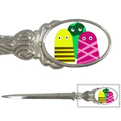 Three mosters Letter Openers