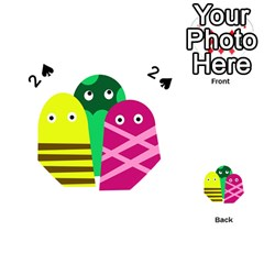 Three mosters Playing Cards 54 (Heart)