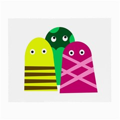 Three mosters Small Glasses Cloth (2-Side)