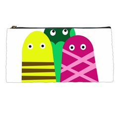 Three mosters Pencil Cases