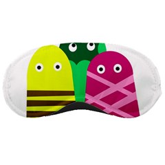 Three mosters Sleeping Masks