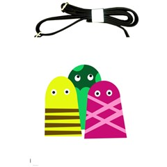 Three mosters Shoulder Sling Bags