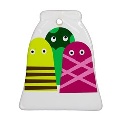 Three mosters Ornament (Bell)